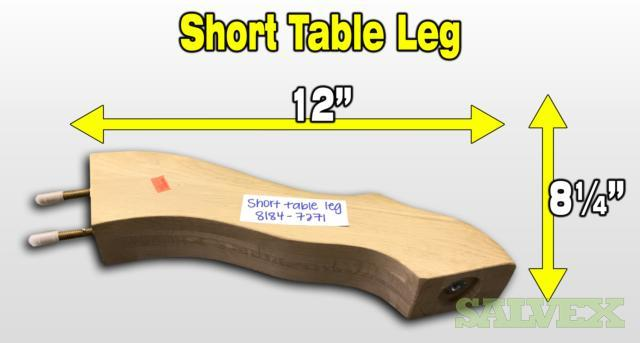 Furniture Parts: Table Legs & Table Leaf Extensions