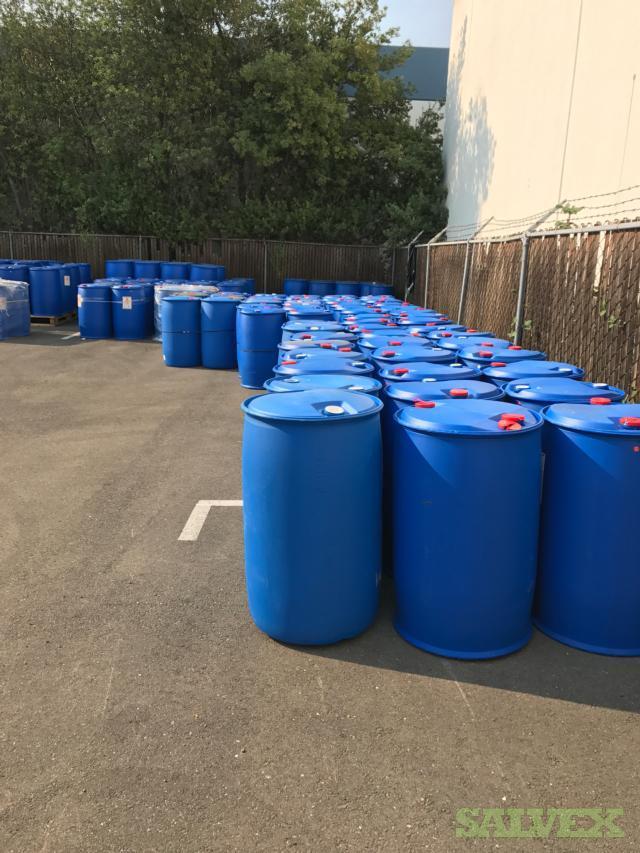 HDPE 55-Gallon Plastics Barrels -500 Units