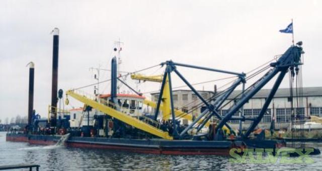 Cutter Suction Dredger Vessel Built 1984 66.20 M