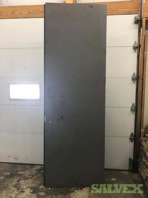 Metal Doors 9' 1/8 X 28 & 35 No Frames- 24 Units