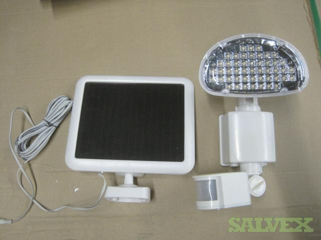 White Outdoor Solar LED Motion Light