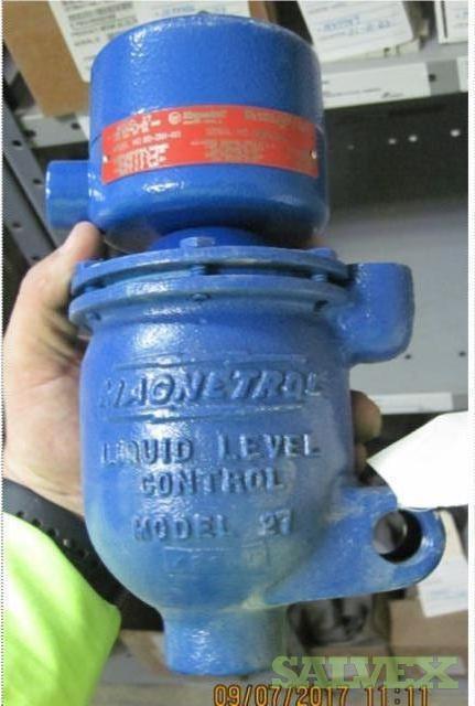 Cement Plant Equipment: Pumps, Bearings, Sensors, Amplifiers, Transmitters // Brands Include: Mueller, Alstom, GE, Linkbelt, Dodge (29 Items)