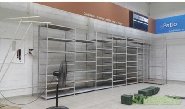 Gondola Store Shelving, Display Shelving, Retail Shelving - Tegucigalpa