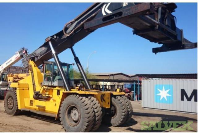 Kalmar KLMV 28-1200 Forklift Truck, and Kalmar DRD 450 Reach Stacker (2 Units)