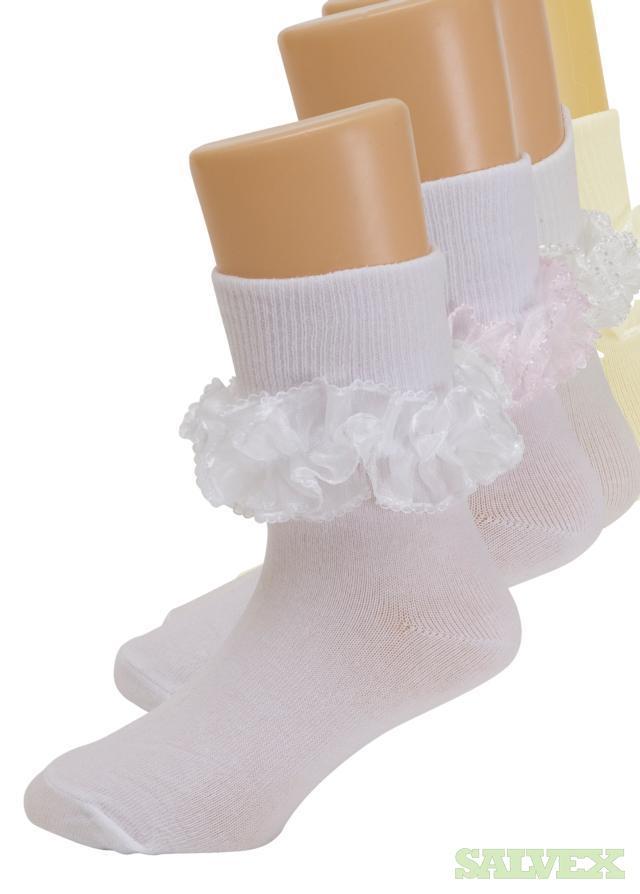 Girls Tutu Ruffle Socks, Style #4103