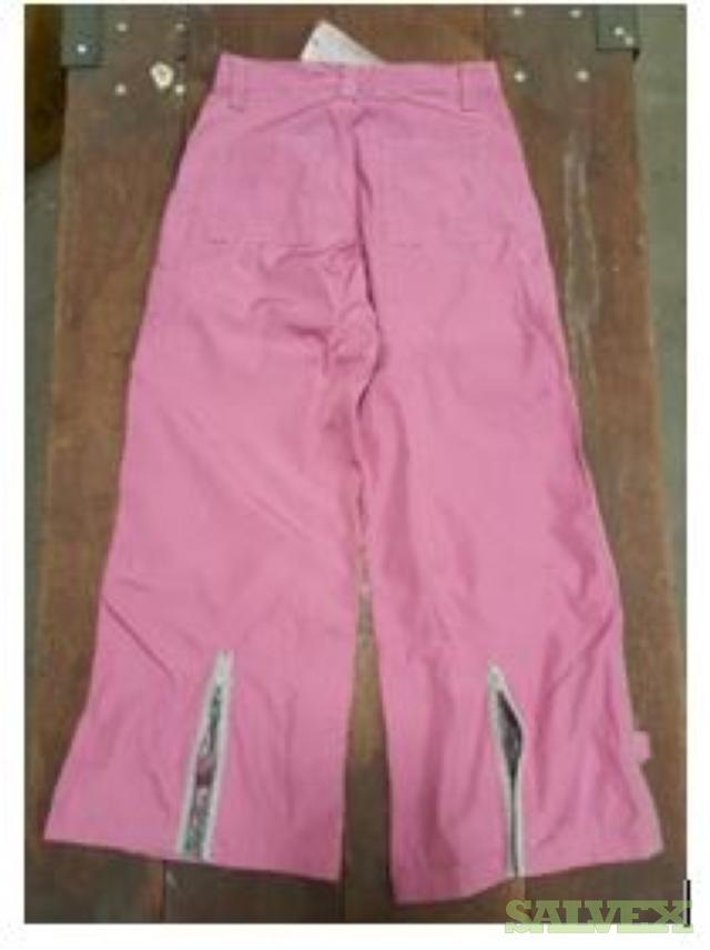 Outdoor Winter Raver Girls Juniors Pink Snow Pants (3,010 Pcs)