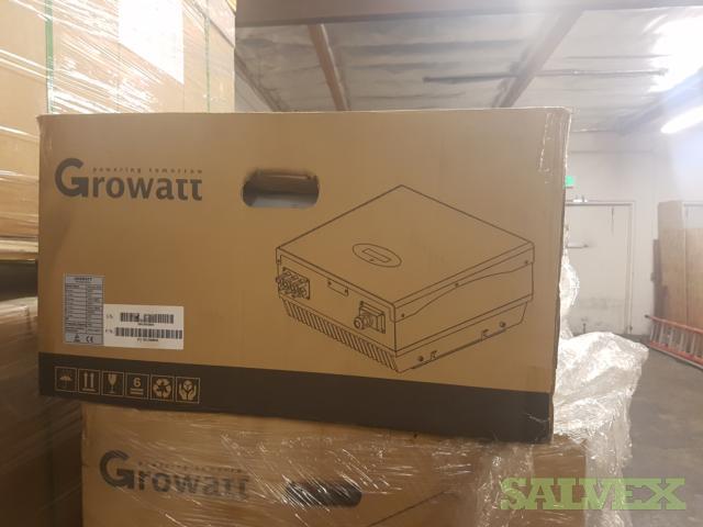 10 X Growatt Inverters 4400