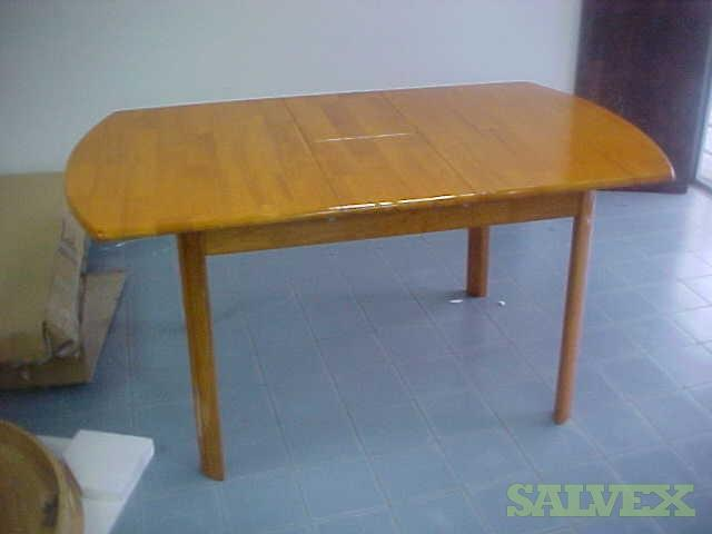 Malaysian Rubber Wood Tables (100 Units)