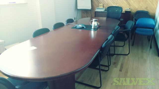 Desks and Conference Table (20 Units)