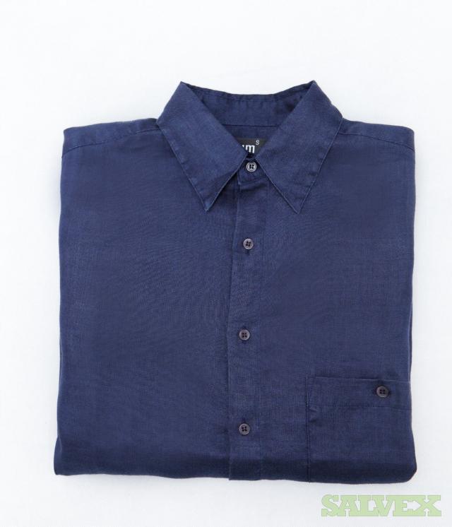 Long Sleeve Shirt |100% Ramie Natural Fiber, 13 Assorted Colors