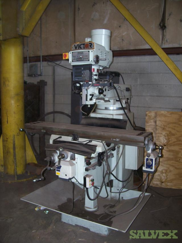 Victor Milling Machine and Angle Roller