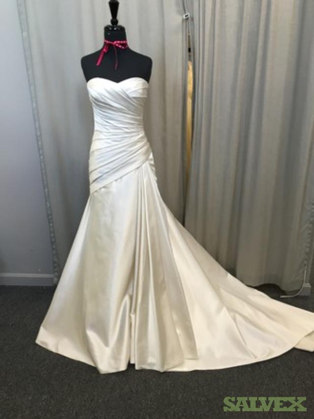 Wedding Gowns Designers include Justin Alexander Maggie Sottero, Casablanca etc (400 Units)
