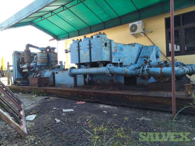 Dowell Triplex Pump