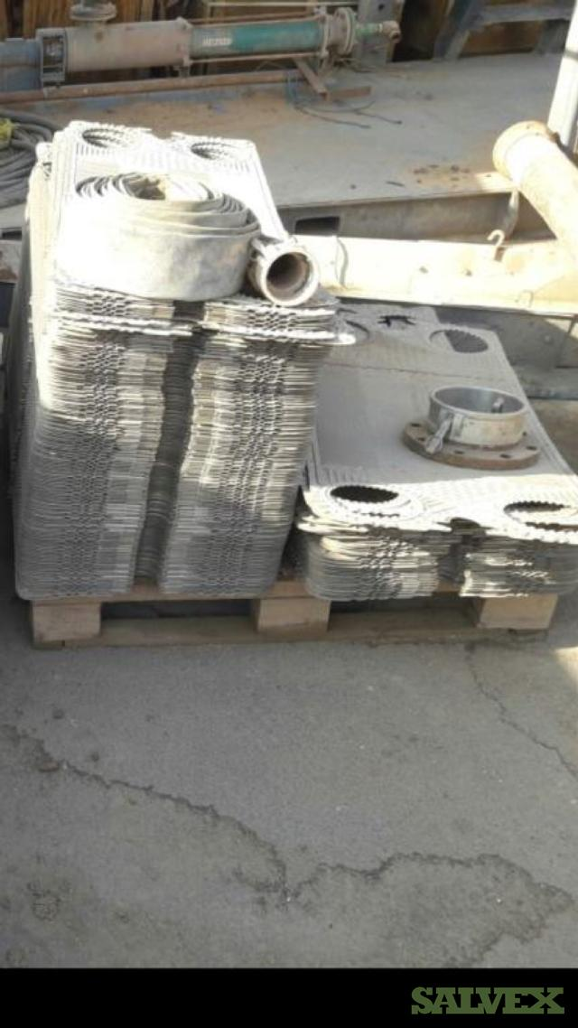 Used Titanium Plates for Heat Exchanger (4000 Units)