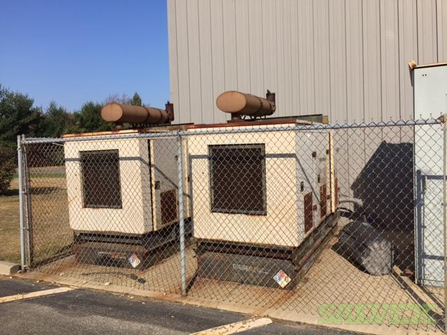 Generac Self-contained 3-Phase Diesel Generators 343 KVA (2 Units)
