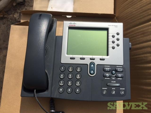 Used Cisco IP Phones 7962 (300 Pieces)
