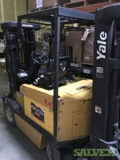 Yale ERC050 Electric Forklift Trucks 48V 5000 LB (5 Units)