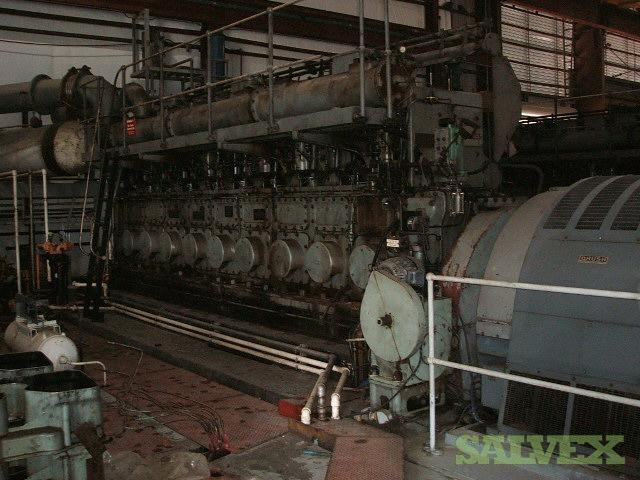 Mirrlees Blackstone Generators And Spare Parts Salvex