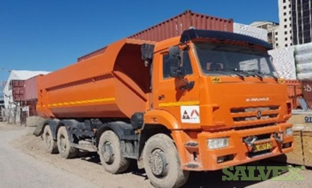 Kamaz Tipper Truck (8 Units)