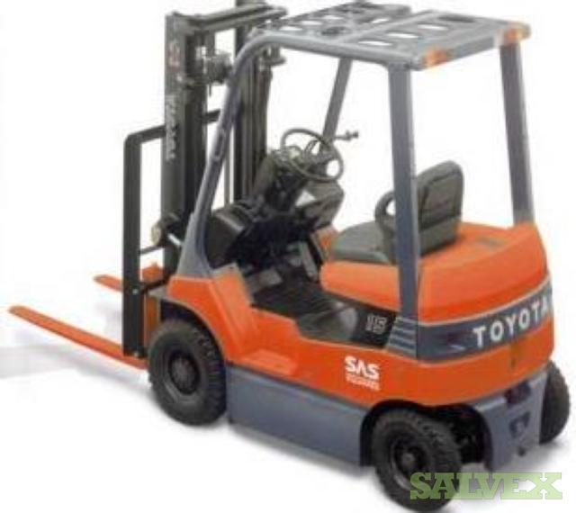 Toyota Forklift Electrical Truck -7FB20 (4 Units)