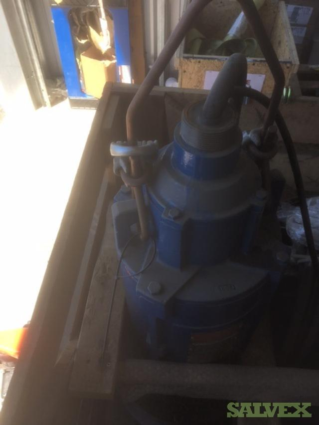 Weir /Wemco (E) LRS Submersible Municipal Slurry Pump (18.6 kw)