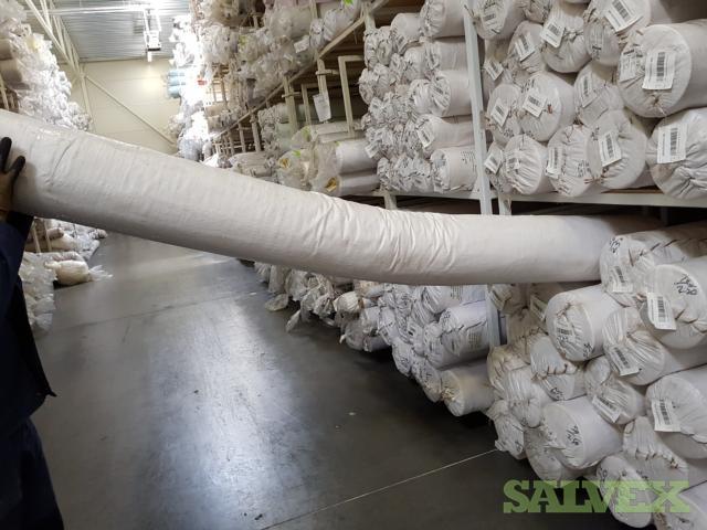 Polycotton Textile Rolls (75 Units)