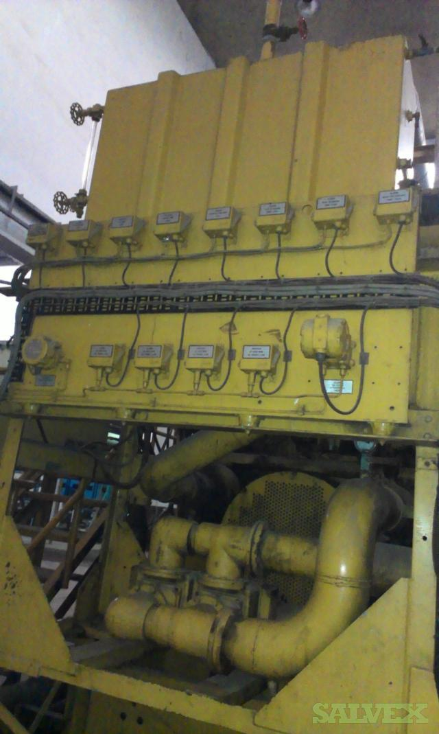CAT 3616 Complete Generator Set with AVK Alternator