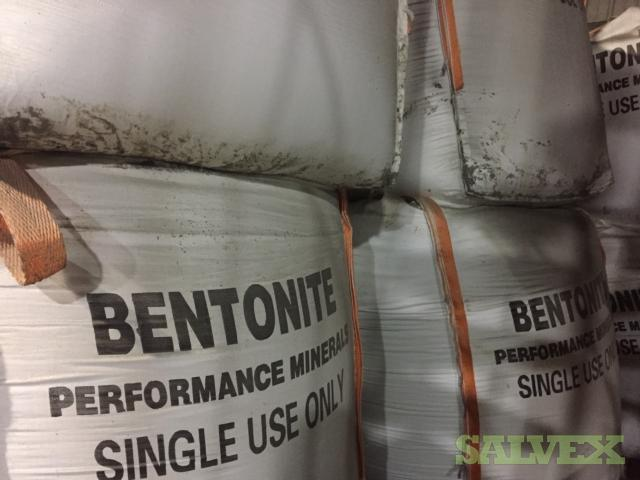 Bara-Kade Granular Sodium Bentonite Clay for Pond Sealing  (72 totes, 80 percent of them are 2000 LBS, the rest are half totes )