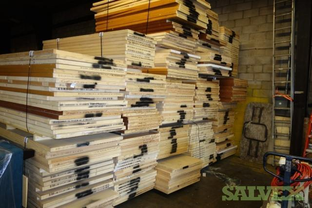 & Haley Wood Doors (293 Doors) Various Sizes | Salvex
