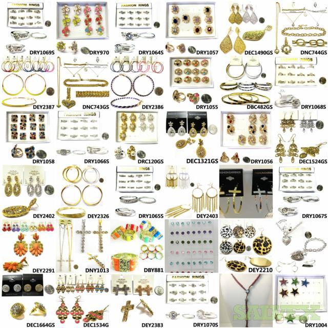 Fashion Jewelry - New Overstock (15,000 Pieces)