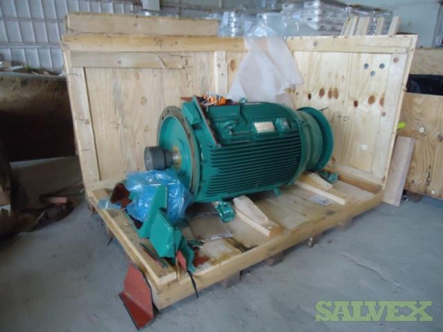 WEG Low Voltage Motor (150 kW at 1,490 rpm)