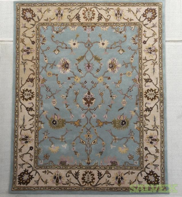 Hand Knotted Rugs Made In India 400 Pieces Salvex