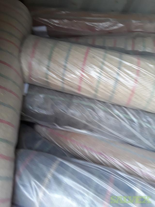 Hand Made Woolen Knotted Rugs (Unclaimed Freight)