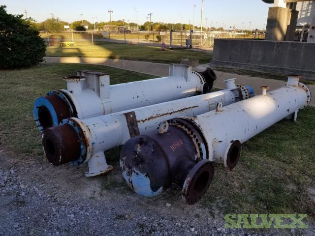 Used Bos-Hatten Shell & Tube Heat Exchangers