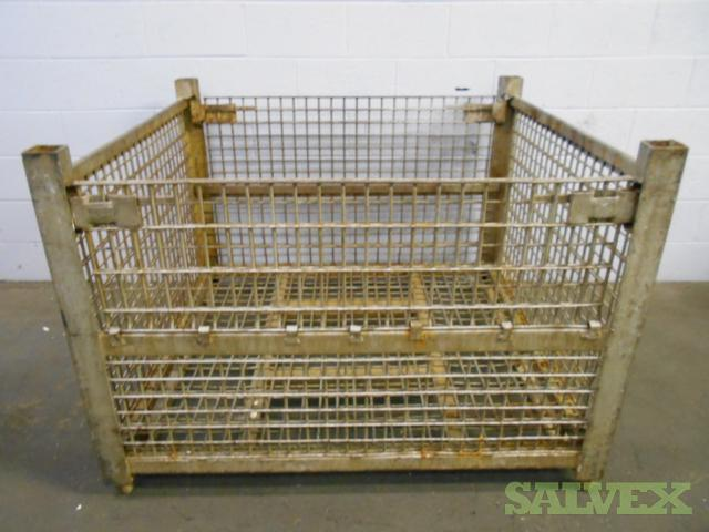 Rigid Wire Basket (ZE-13 Style) - 53x48x38