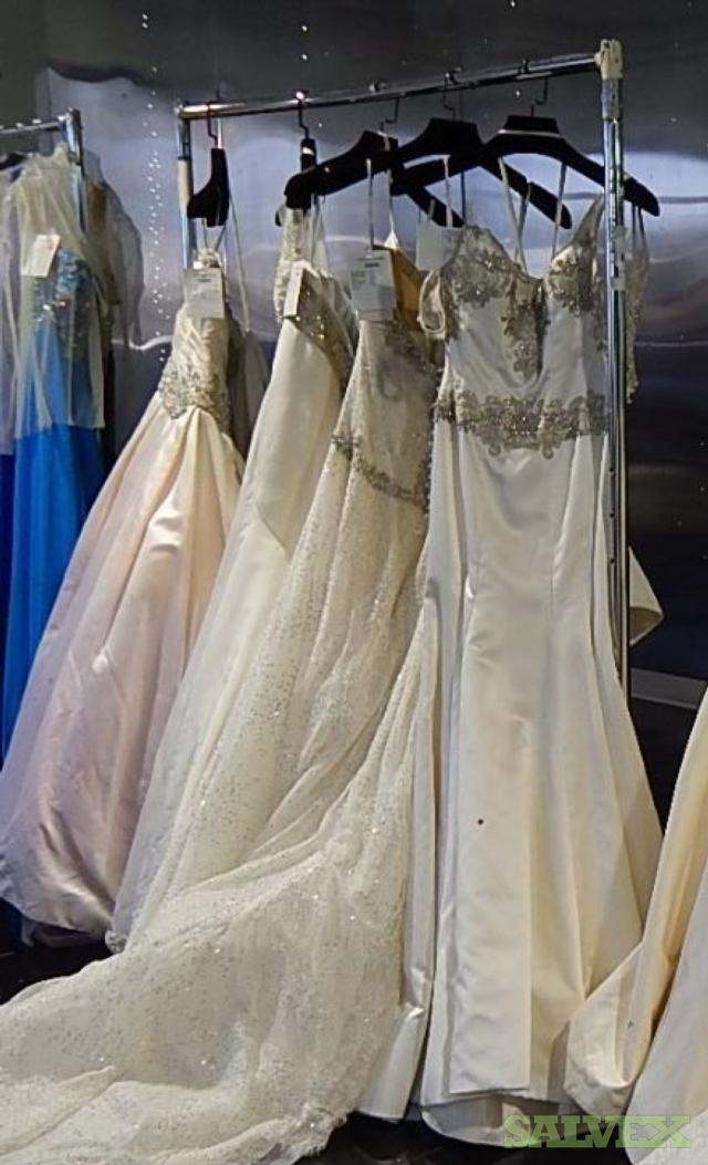 Victor Harper Couture Silk Bridal Gowns (10 Units)