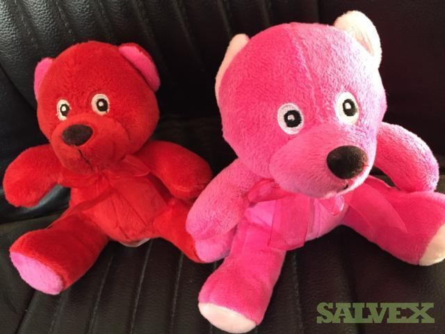 Teddy Bears 6 Red and Pink - 720 Units