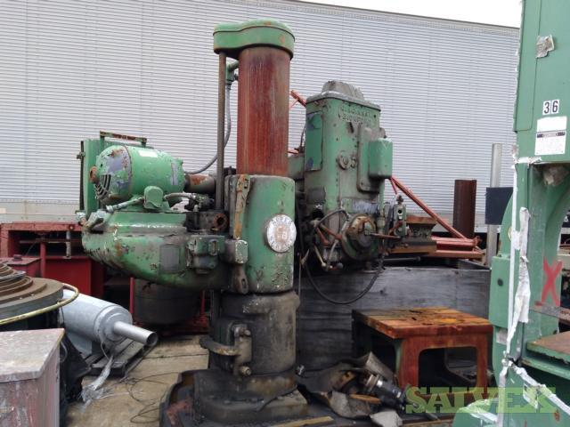 Carlton & Cincinnati Bickford Radial Drills (6 Units)