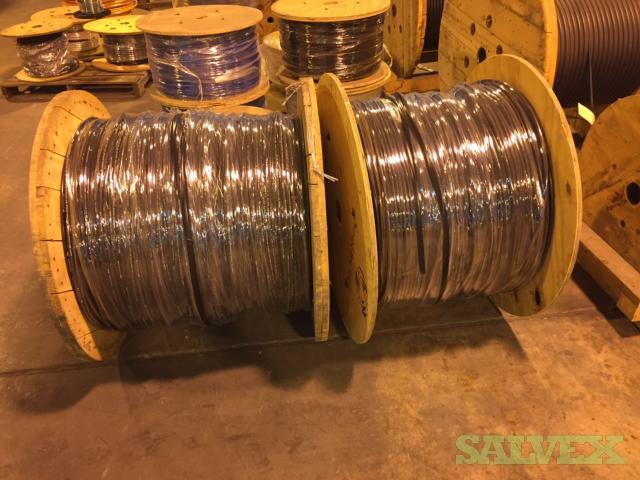 Draka Comteq Optical Fiber Cable 62.5/125  - 2 Reels  (6910')