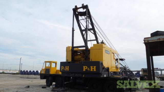 p h 9125 tc truck crane 140 ton 1 unit salvex rh salvex com Ph Overhead Cranes Manuals p&h mobile crane manual