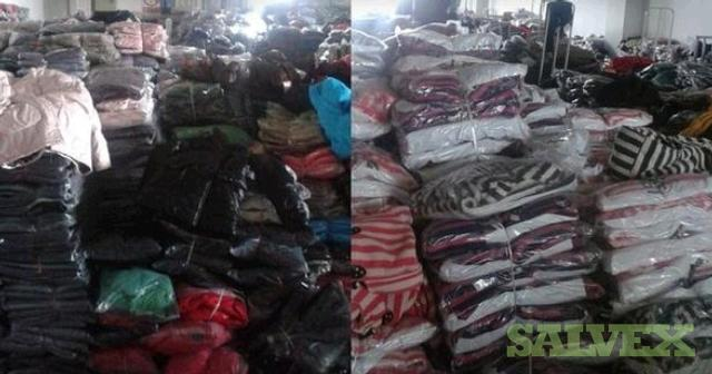Clothes, Jeans and PU Pants (6,300 Units)