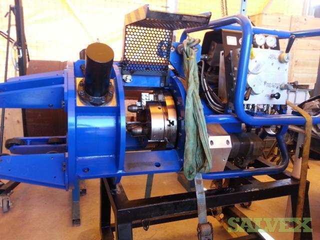 Tri Tool Pipe Facing Machine and Hydraulic Diesel Pump