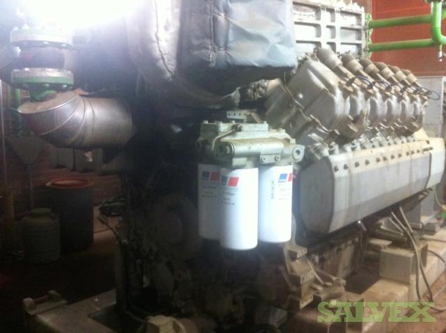 MTU Generating Set 1164 KW 2006 (1 Set)