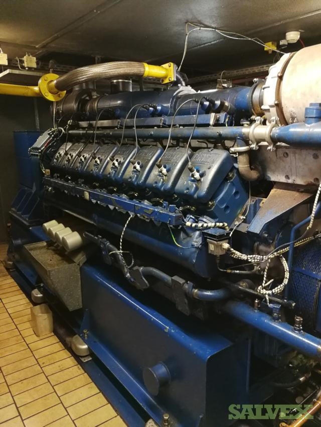 Deutz MWM 620V16 Gas Sets 1067 KW 1996 (2 Sets)