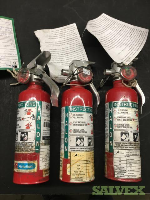 Aircraft Fire Extinguishers (As Removed)