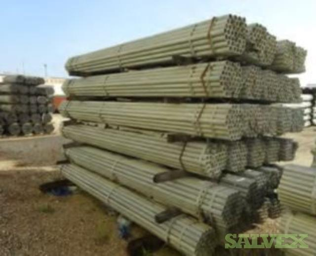Galvanized ERW Steel Pipe & Galvanized / Black ERW S40 ASTM A53 Steel Pipe - Fencing (913,252 Lbs)