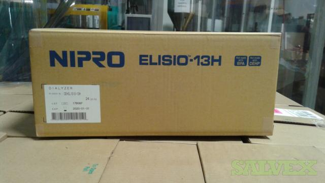 Nipro Elisio 13H PP (1.3 m2) Synthetic Hemodialyzers (24,000 Pcs )