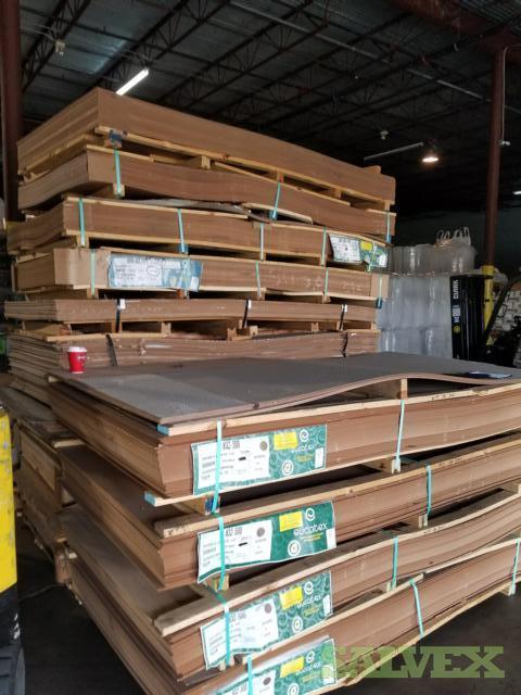 Eucatex Pegboard, Hardboard & Euca Fiberboard (492 Pieces)