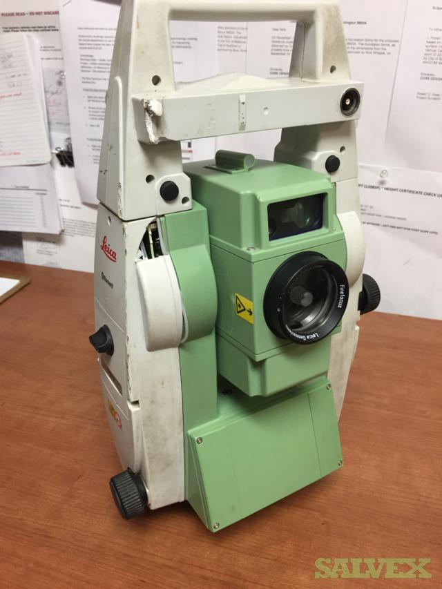 Leica TS12 P 3 R400 Total Station Robotic Geosystem 2014
