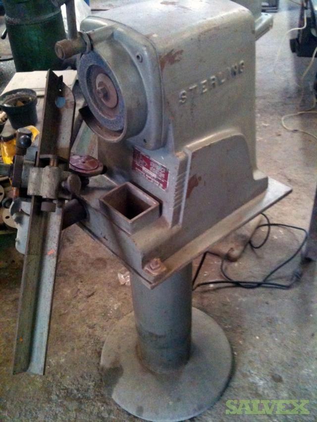 Sterling Model DV Drill Grinder Complete Set